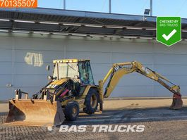 graaflaadmachine Caterpillar 432D Telescopic arm - From first owner - 428 2004