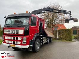 kipper vrachtwagen > 7.5 t Terberg FM 1350 -WDGL euro 5 6x6 kipper met kraan 2007