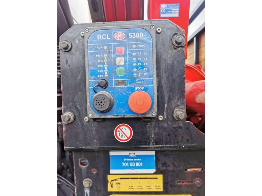 kraanwagen DAF CF 85 2012 HMF1720K3 RADIO 6X2 2012