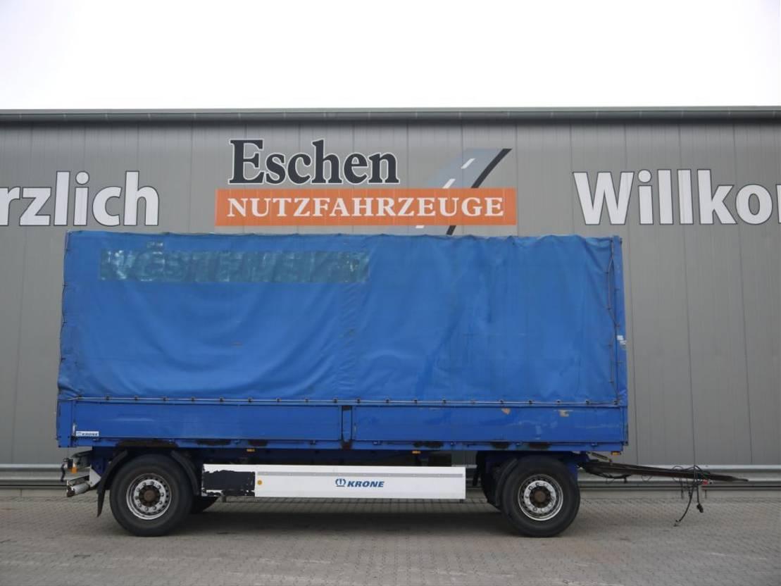 huifzeil aanhanger Krone 2 Achs Drehschemel 2008