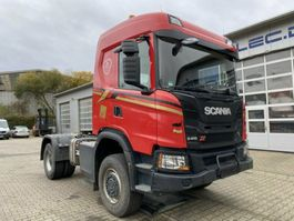 standaard trekker Scania G410 4x4 Euro 6 SZM Kipphydraulik + Retarder! 2018