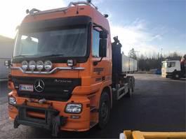 kraanwagen Mercedes-Benz Actros 2541 6x2 2007