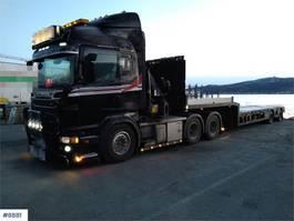 kraanwagen Scania R620 Crane truck W/ 27 t7m palfinger crane and Jum 2012