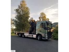 kraanwagen Volvo FH 460 Crane truck w/ 45 t/m copmacrane w/ jibb 2017
