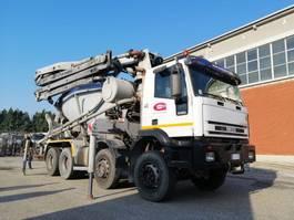 betonpomp vrachtwagen Iveco Eurotrakker 410E44-8X4 BETON POMPA CIFA