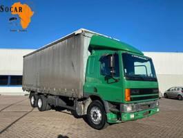 bakwagen vrachtwagen DAF CF 75 300 ATI EURO 2 (10 TIRES) 1997