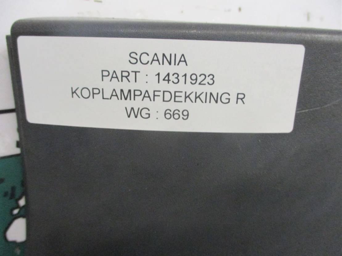 Koplamp vrachtwagen onderdeel Scania R480 1431923 KOPLAMP AFDEKKING RECHTS