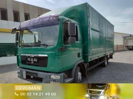 huifzeil vrachtwagen MAN TGL 10.220 Baché / Huifwagen Euro5 2011