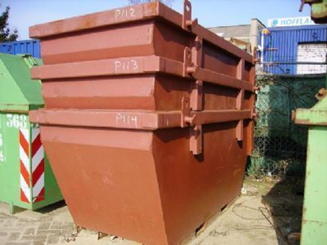 puin container Diversen 2 m3 containers