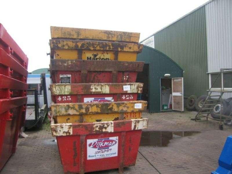 Diversen - gebruikte containers 1