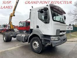 chassis cabine vrachtwagen Renault KERAX 420  - SUSP LAMES - BOITE MANUELLE + RETARDER - GRAND PONT 2004