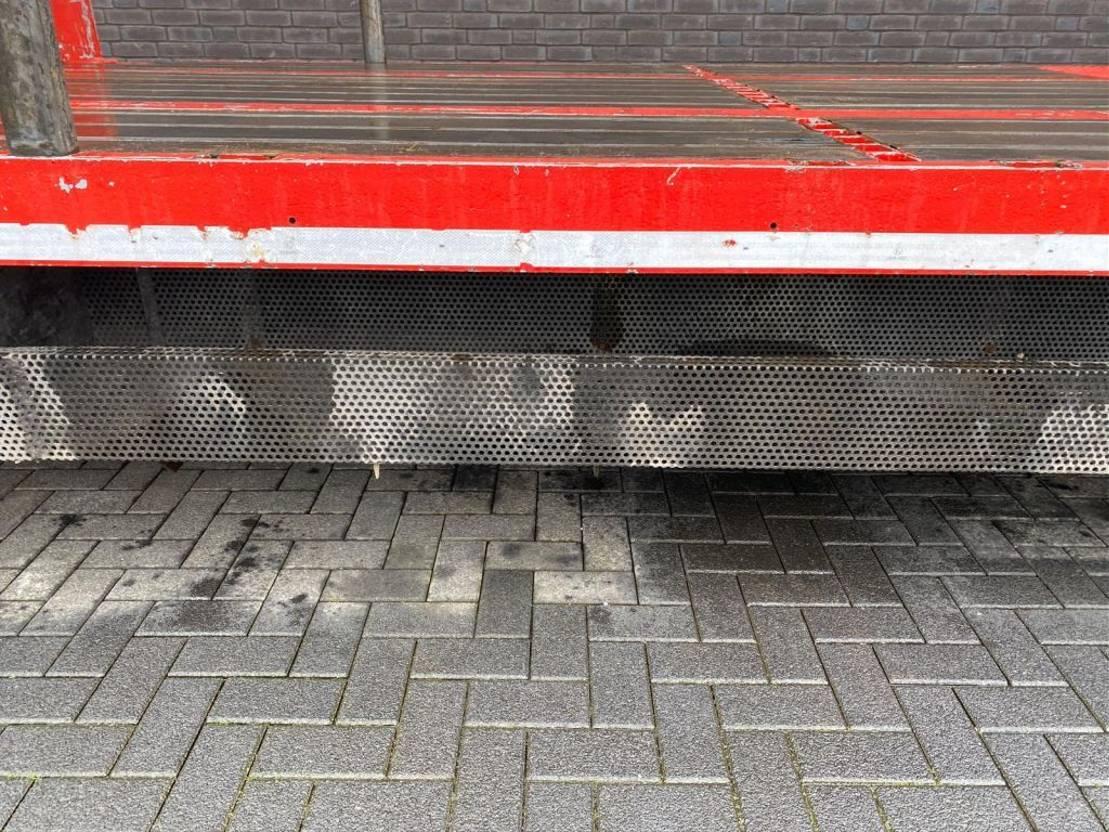 semi dieplader oplegger Pacton 3  AXEL  SEMIE LOWLOADER 2008