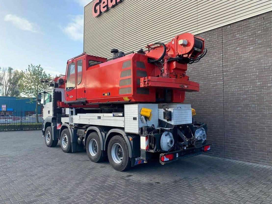 kraanwagen MAN TGS 41 8X4 SENNEBOGEN HPC 40 KRAN/KRAAN/CRANE/GRUA 2009