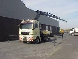 kraanwagen MAN TGA 18 440 4X4 +HIAB/kran/kraan/Montagekran/ 2007