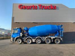 betonmixer vrachtwagen Ginaf X 5250 TS 10X4 WISSELSYSTEEM MIXER + KIPPER/TIPPER 2010
