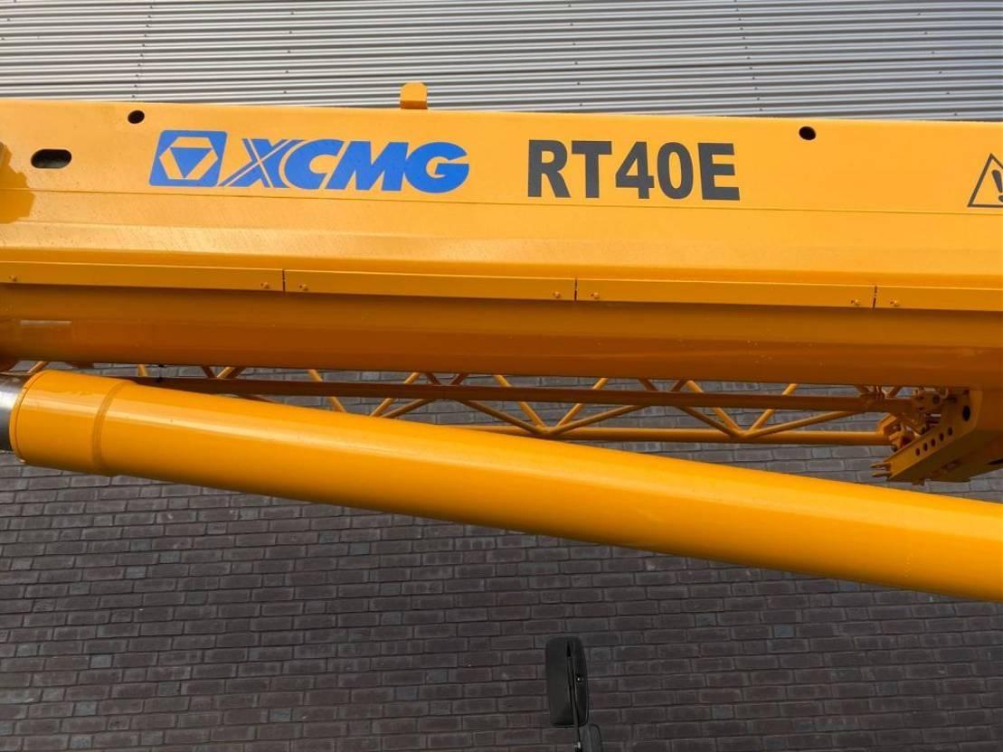 ruwterreinkraan XCMG RT40E UNUSED CRANE/KRAAN/KRAN/GRUA 2013