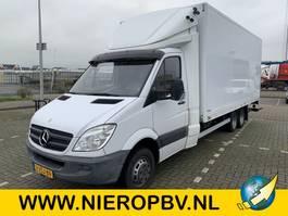 bakwagen bedrijfswagen < 7.5 t Mercedes-Benz sprinter 519CDI bakwagen BE combi airco laadklep 2011