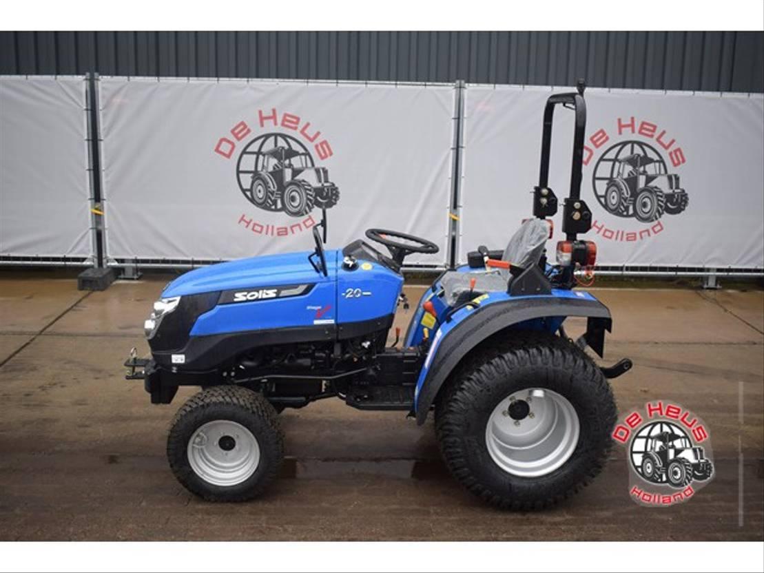 standaard tractor landbouw Solis 20 2020