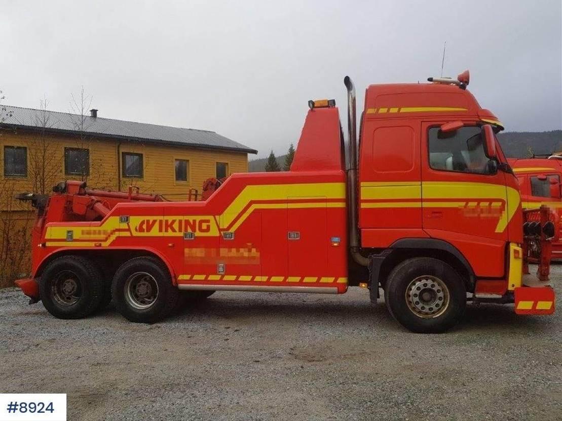 takelwagen-bergingswagen-vrachtwagen Volvo FH 12 Tow truck with Warta build WATCH VIDEO 2003