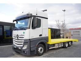 takelwagen-bergingswagen-vrachtwagen Mercedes-Benz Actros 2545 , E6 , 6x2 , low deck MEGA , lenght 8m , hydraulic r 2017