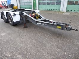 overige vrachtwagen aanhangers Burg BPD 00-18 DOlly SAF, Disc, King pin weighing system, Systeme mesure pres... 2004