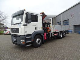 kraanwagen MAN TGA 18.430 / 6X2 / ATLAS 165.2 CRANE / MANUAL / 2007 2007