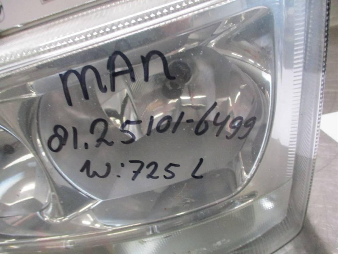 Koplamp vrachtwagen onderdeel MAN 18.400 81.25101-6499 KOPLAMP LINKS