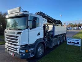 kraanwagen Scania R580 LB 8x4*4 HNB 2015