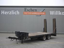 platte aanhanger vrachtwagen Müller-Mitteltal Tandem Pritsche 1997