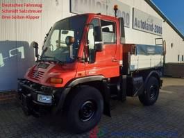 kipper vrachtwagen > 7.5 t Unimog U300 Winterdienst Salzstreuer Wechsellenkung 2003