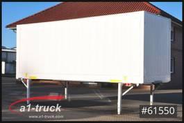 wissellaadbak container Krone WB Koffer 2800mm Innenhöhe, Klapptisch 2013