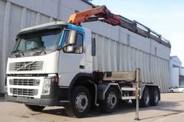 wissellaadbaksysteem vrachtwagen Volvo FM12.420  Kran PK23002 8x4 Retarder Leasing 2004