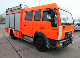 overige vrachtwagens MAN L2000 10.224 LC LHF 16 4X2 DoKa AHK FEUERWEHR 1998