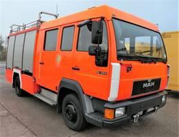 overige vrachtwagens MAN L2000 10.224 LC LHF 16 4X2 DoKa AHK FEUERWEHR 1996