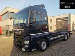 wissellaadbaksysteem vrachtwagen MAN TGX 26.480 6x2-2 LL / ZF Intarder / German