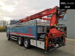 kraanwagen DAF 85.410 T / Lenkachse / Kran 25,20 m