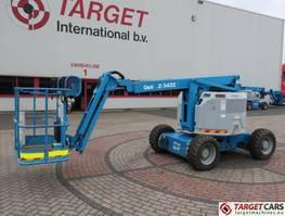 knikarmhoogwerker wiel Genie Z-34/22 Articulated 4x4 Diesel Boom Work Lift 1240cm 2010