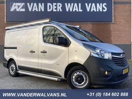 gesloten bestelwagen Opel Vivaro 1.6CDTI 120pk L1H1 Airco, navi, trekhaak, camera, imperiaal, crui... 2015