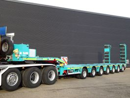 dieplader oplegger Doll S7E-S7 / 7 ACHS / 109.000 KG / PANTHER / RAMPEN / EXTENDABLE 2011