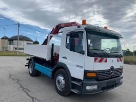 kipper vrachtwagen > 7.5 t Mercedes-Benz Atego 1523 4x2 Tipper With Crane 2004