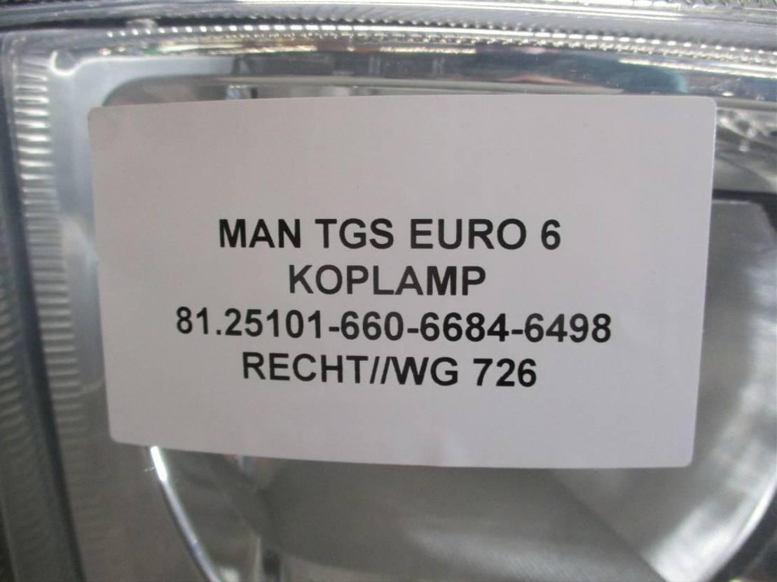 Koplamp vrachtwagen onderdeel MAN TGS 81.25101-6684-6498 KOPLAMP RECHTS EURO 6