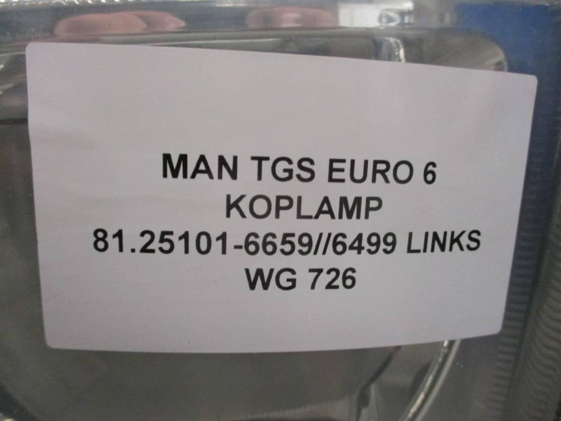 Koplamp vrachtwagen onderdeel MAN TGS 81.25101-6659/6499 KOPLAMP LINKS EURO 6