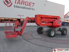knikarmhoogwerker wiel Manitou 160ATJ Articulated 4x4x4 Diesel Boom Work Lift 1625cm 2008