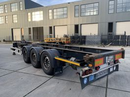 container chassis oplegger Renders ROC 12.27CC / MB Disc / 2x 20FT / 1x40FT 2004