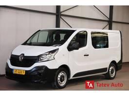 gesloten bestelwagen Renault Trafic 1.6 dCi DUBBEL CABINE AIRCO TREKHAAK 2015