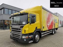 schuifzeil vrachtwagen Scania P 320 DB6x2*4MLB / Ladebordwand / Lenkachse