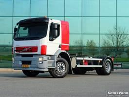 chassis cabine vrachtwagen Volvo FE S 4X2R 280 HP  E5  FULL ADR  20 ft TWISTLOCKS  MANUAL GEAR  AIRCO  HOLLAND TRUCK 2008