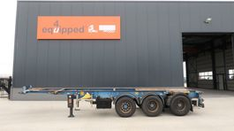 container chassis oplegger LAG 20FT/30FT, ADR (FL, AT, OX) 2004