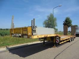 dieplader oplegger Nooteboom 3-Axle Lowbed / 6M Extendable / SAF Axles /  Dumbrakes 2006