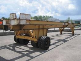 platte aanhanger vrachtwagen MOL Heavy load trailer